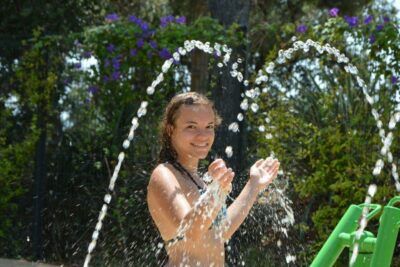 Wasserspiele Camping Südfrankreich