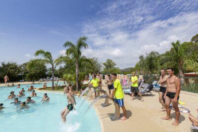 Wasserspiele und Pools im Wasserparadies