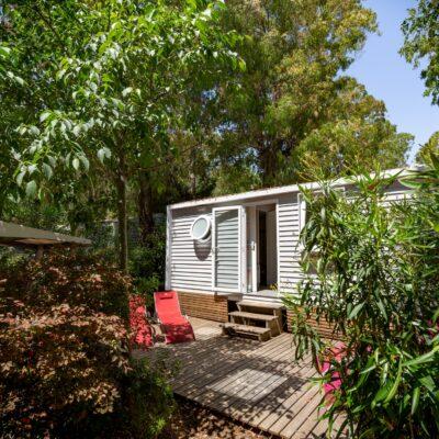 Vermietung Mobilhaus Avantage® mit Klimaanlage, 2 Schlafzimmer für 4 Personen