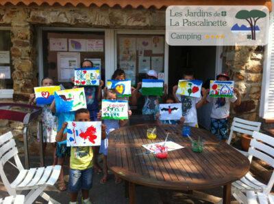 Spielerische Aktivitäten für Kinder in Hyères